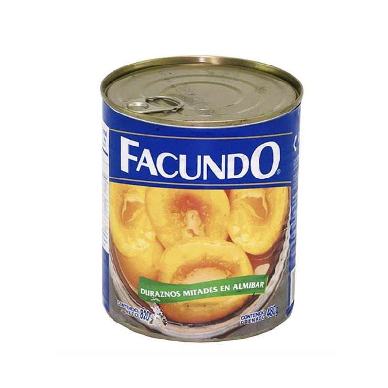 Duraznos en almíbar Facundo 400g