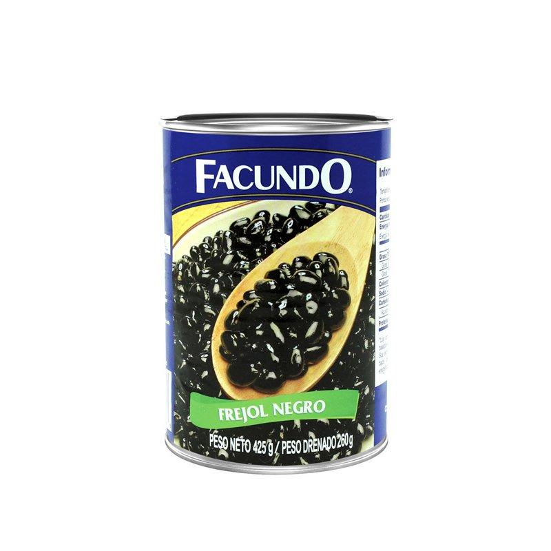Facundo  Frejol Negro 425g