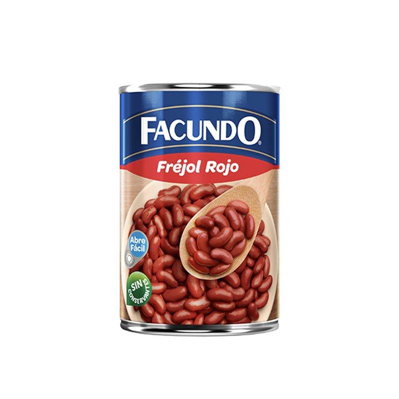 Facundo Frejol Rojo 425g