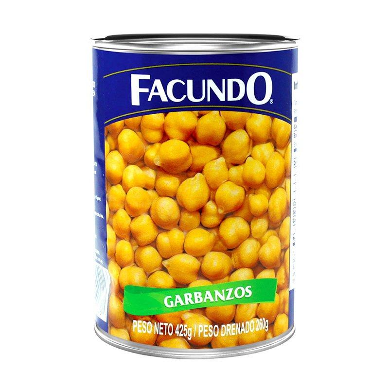 Garbanzo Facundo 425g