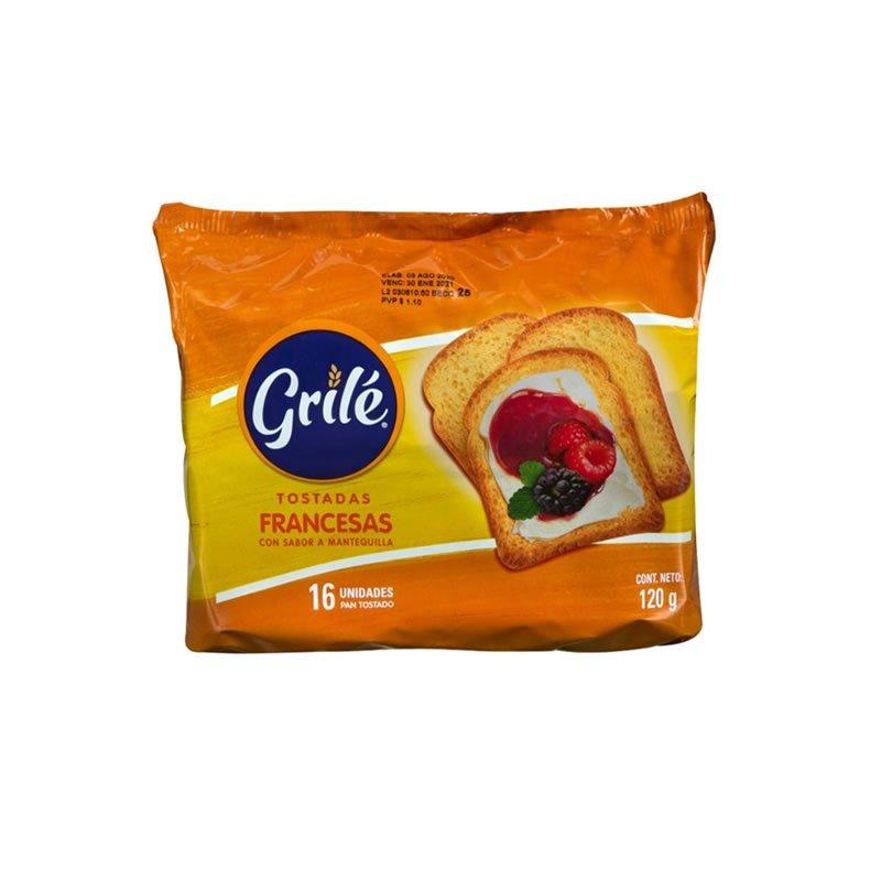 Grilé tostada Francesa 120gr