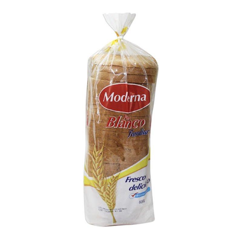 Molde Pan Moderna Blanco 600 gr
