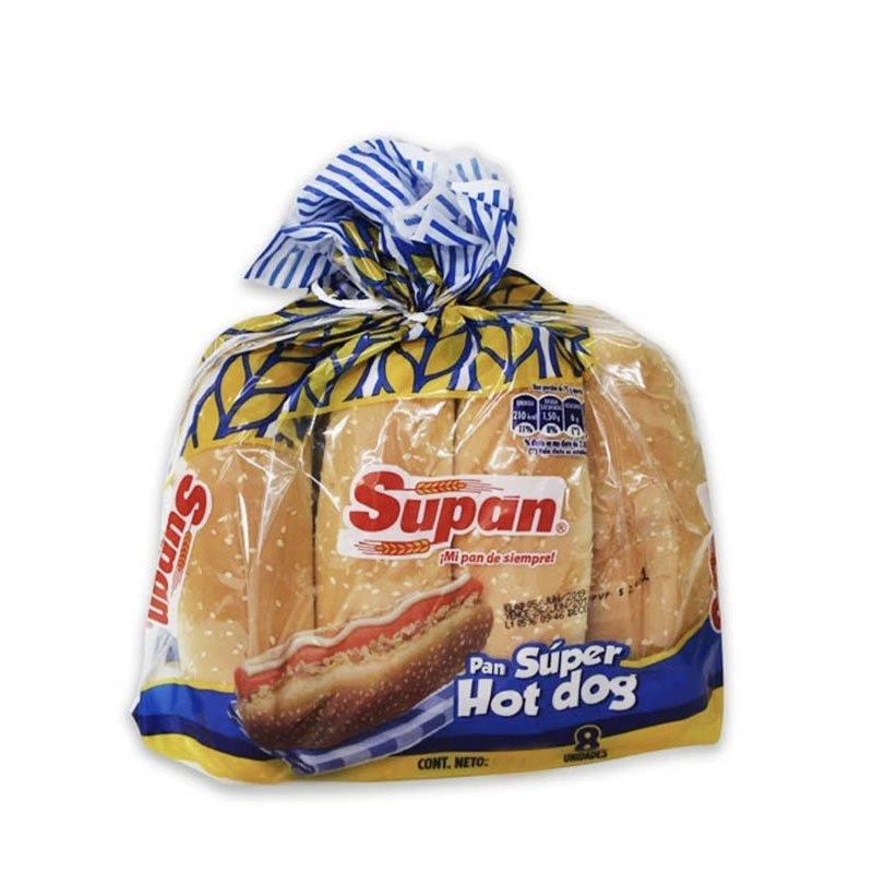 Supan Súper Hotdog 600gr