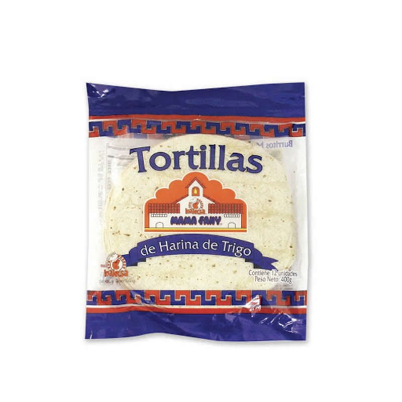 Tortillas Trigo Mama Fanny 400 gr