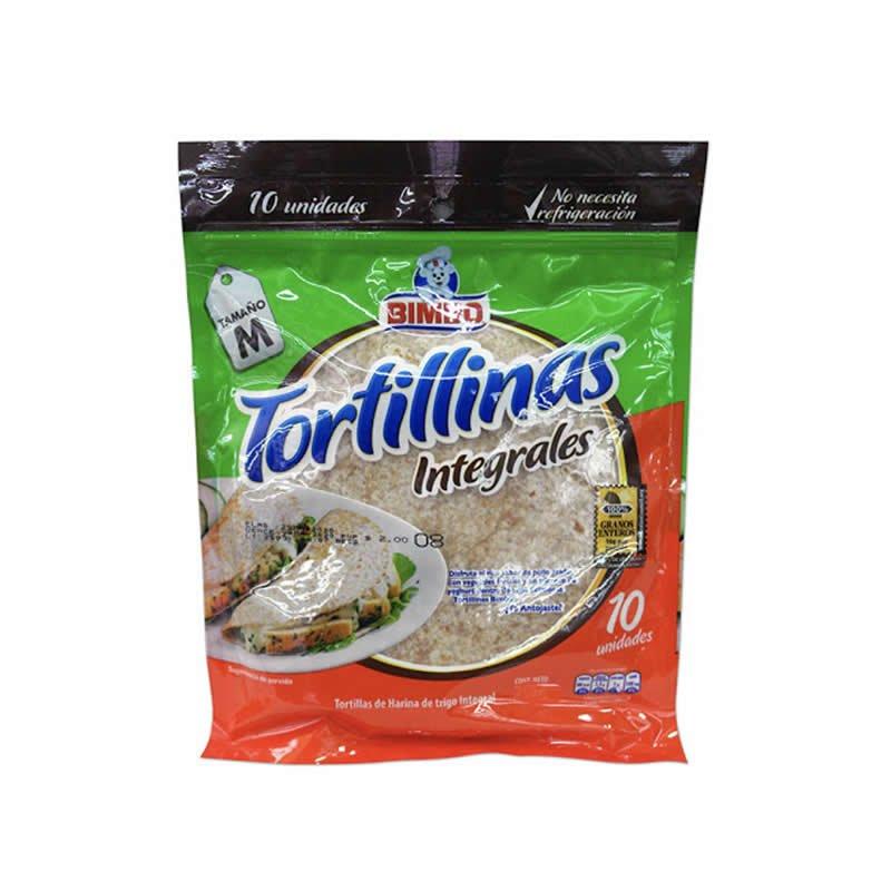 Tortillina Integral Bimbo 320 gr