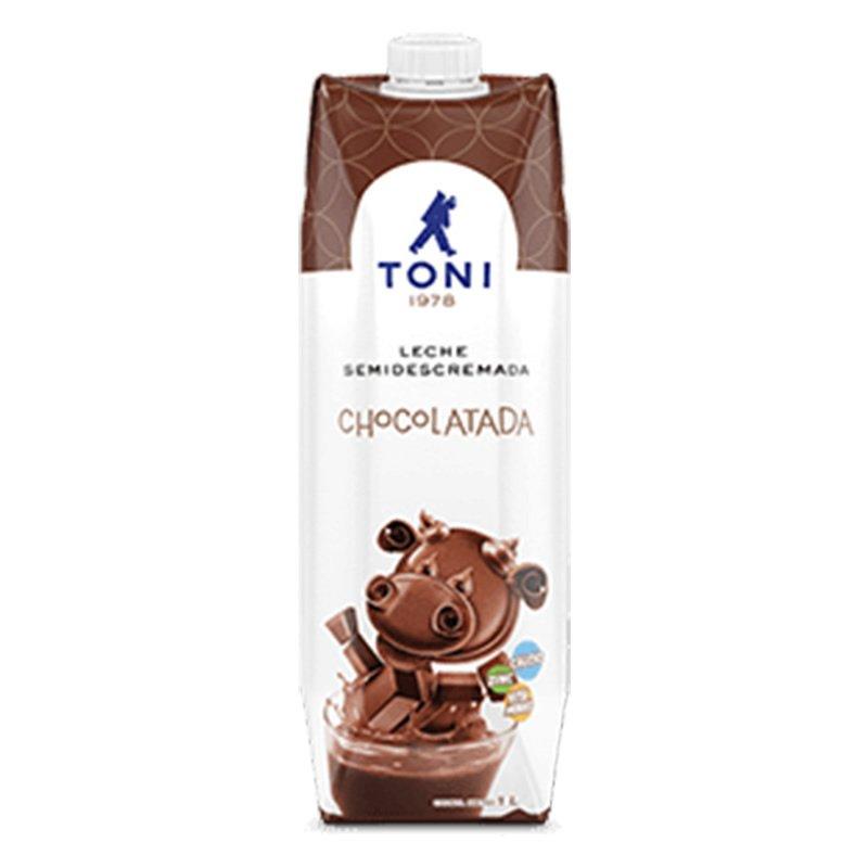 Leche Chocolatada Toni 1lt, Tetra