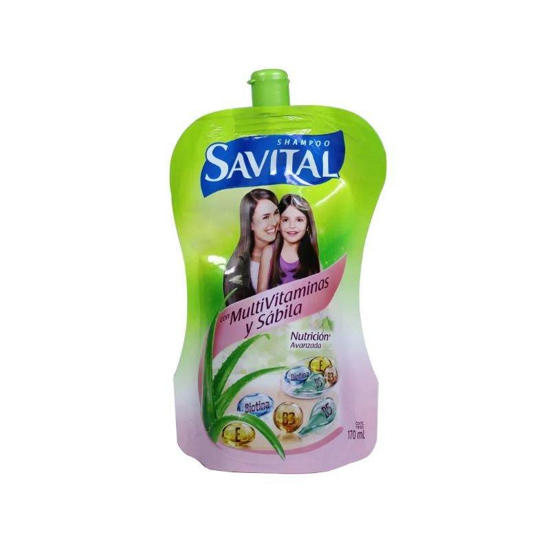 Shampoo Savital con Multivitaminas 170 ml