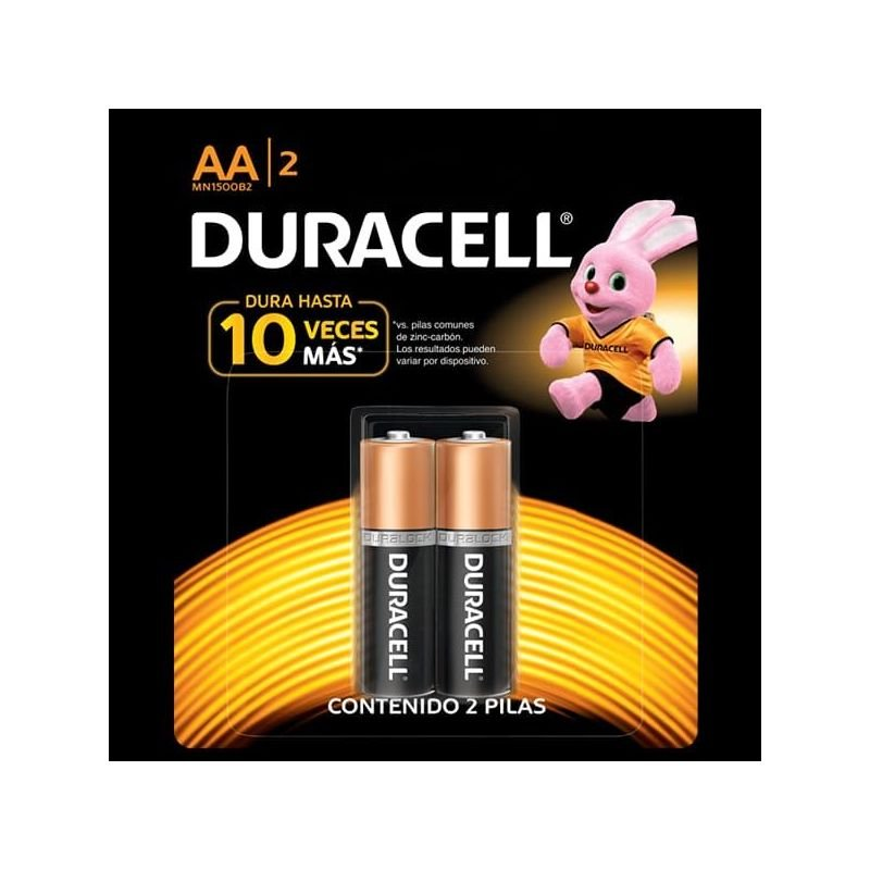 Pilas Duracell x2 AA