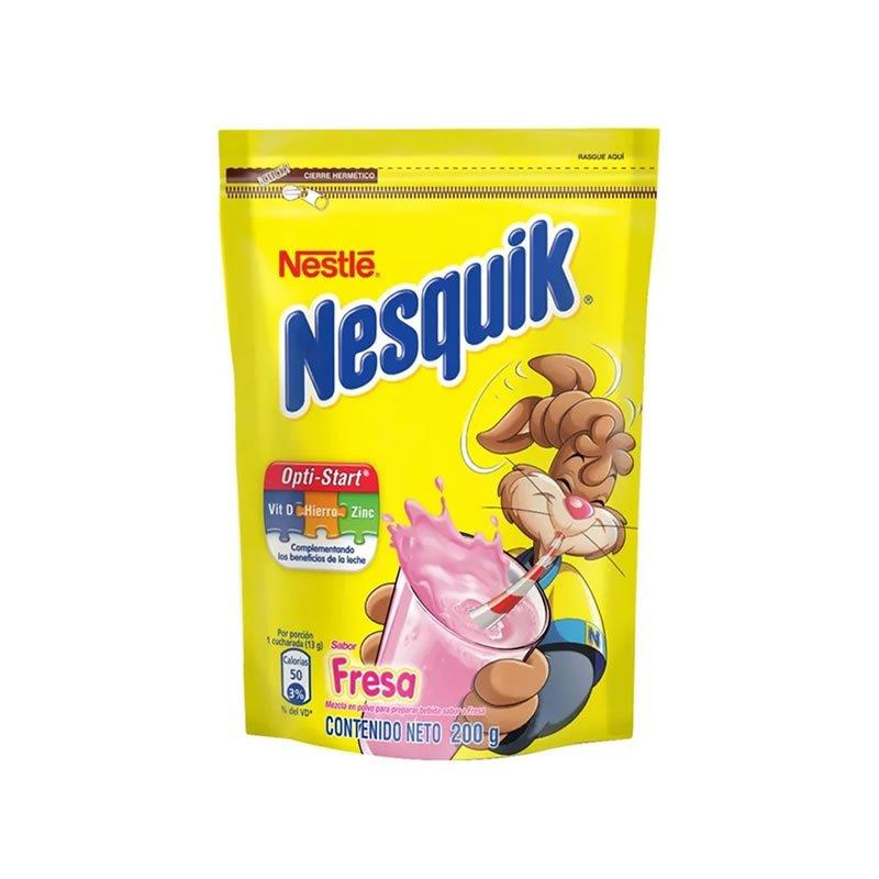 Nesquik en Polvo sabor a Fresa 200g