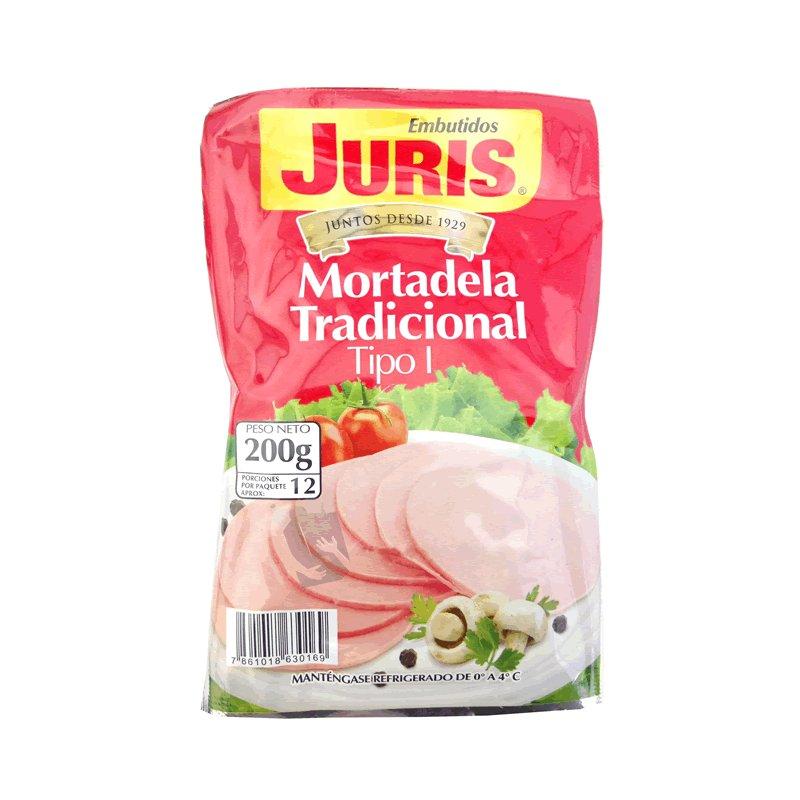 Mortadela Juris 200g