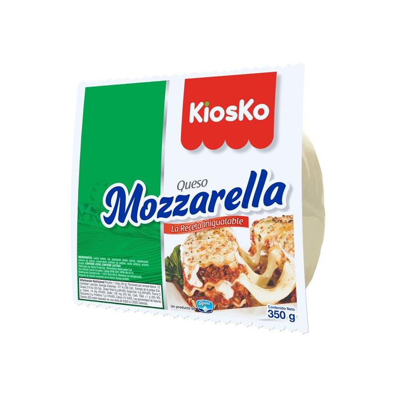 Queso Mozzarella 350g