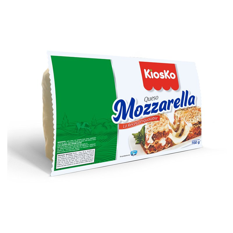 Queso Mozzarella 700g
