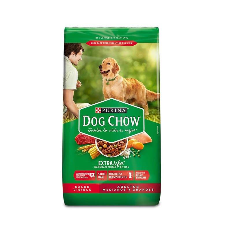 Comida para perro Adultos Dog chow razas medianas y grandes sabor a pollo 2kg