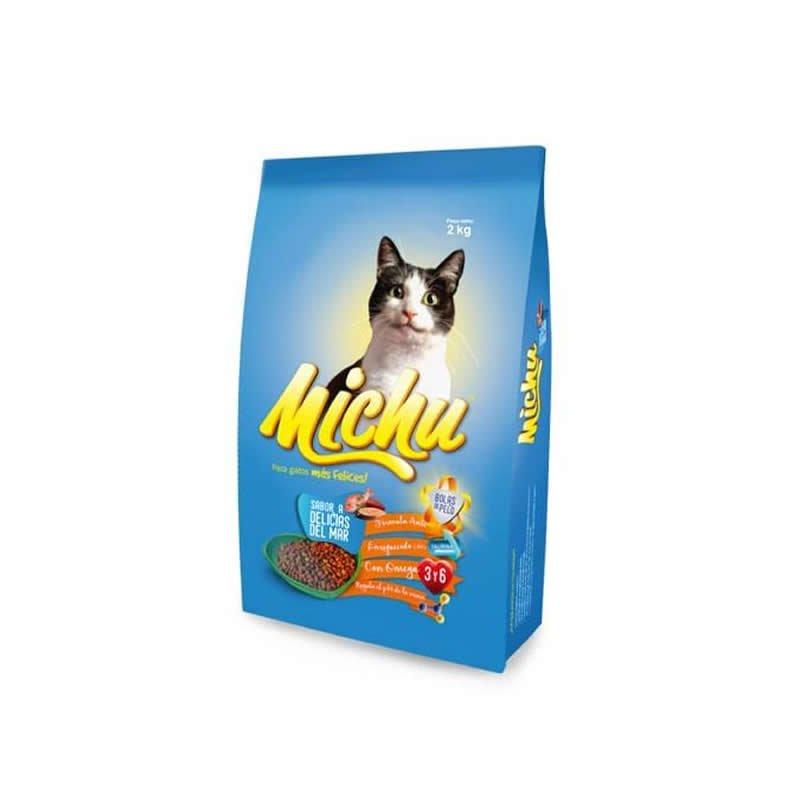 Comida para gatos Michu sabor a Delicias del Mar 2 kg