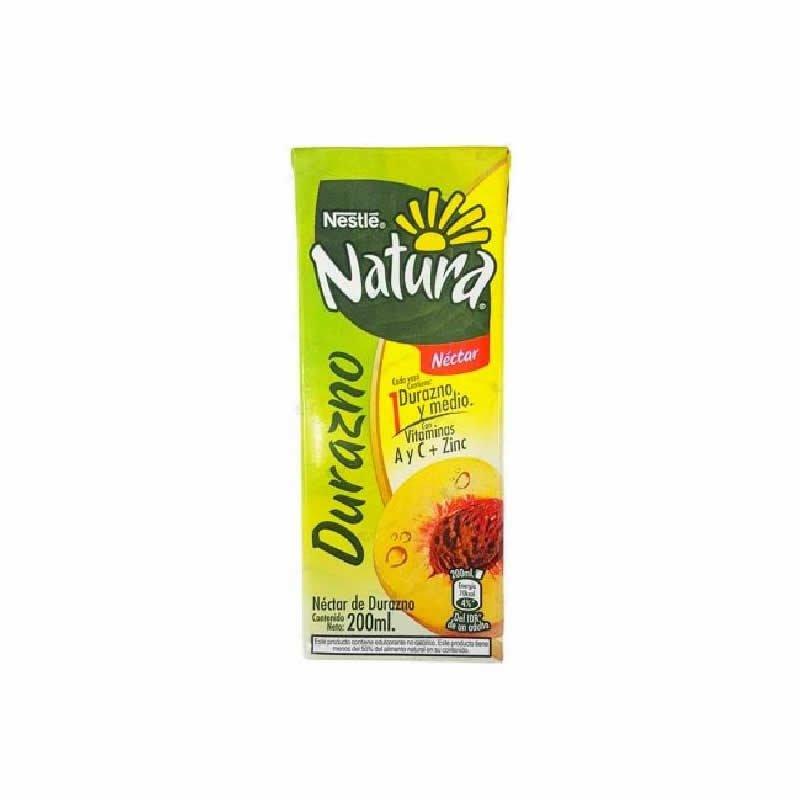 Jugo Natura sabor a Durazno 200ml