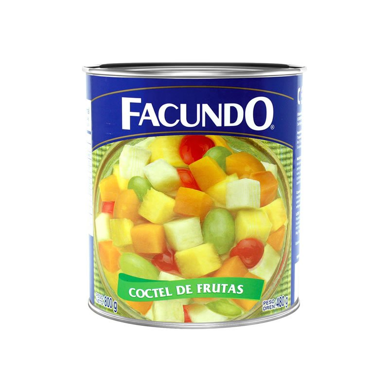 Coctel de Frutas Facundo 800g