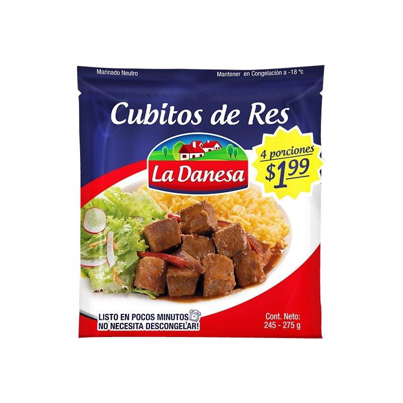 Carne de Res en Cubitos La Danesa 275g