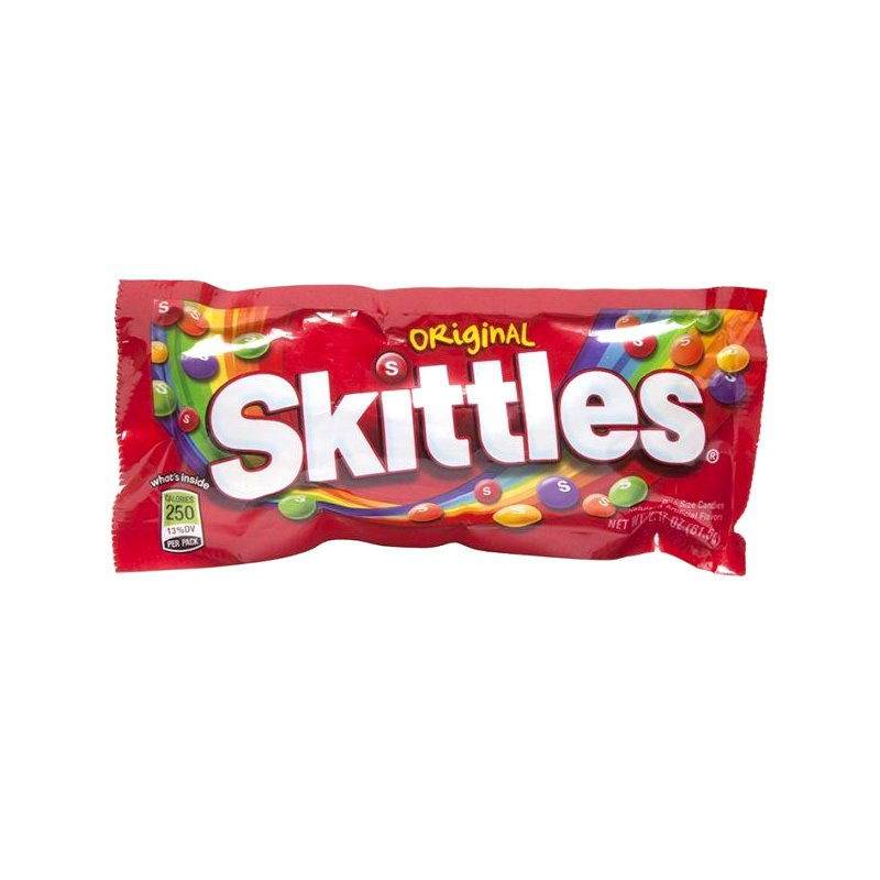 Caramelo Masticable Skittles Original